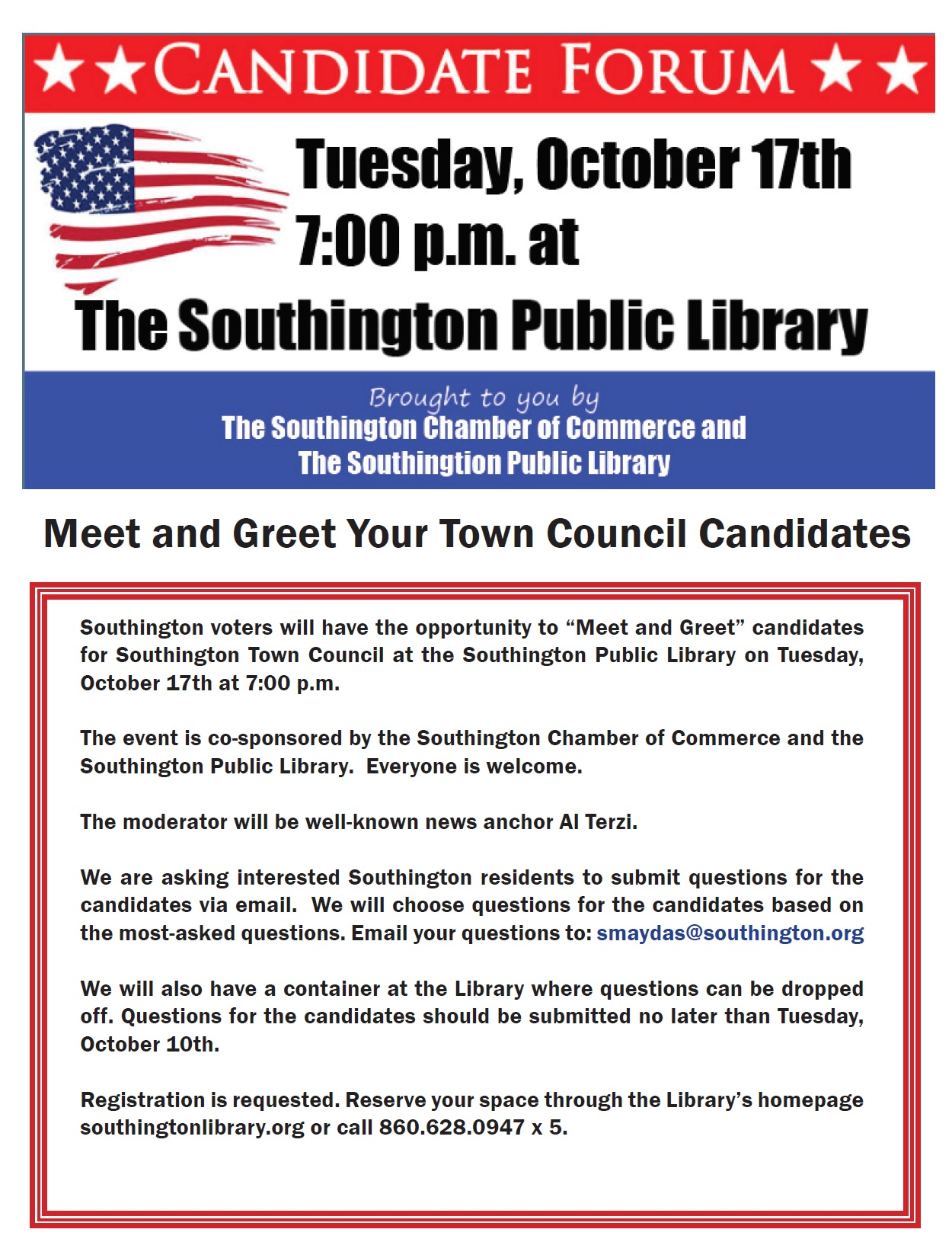 Meet The Candidates The Greater Southington Chamber Of Commerce