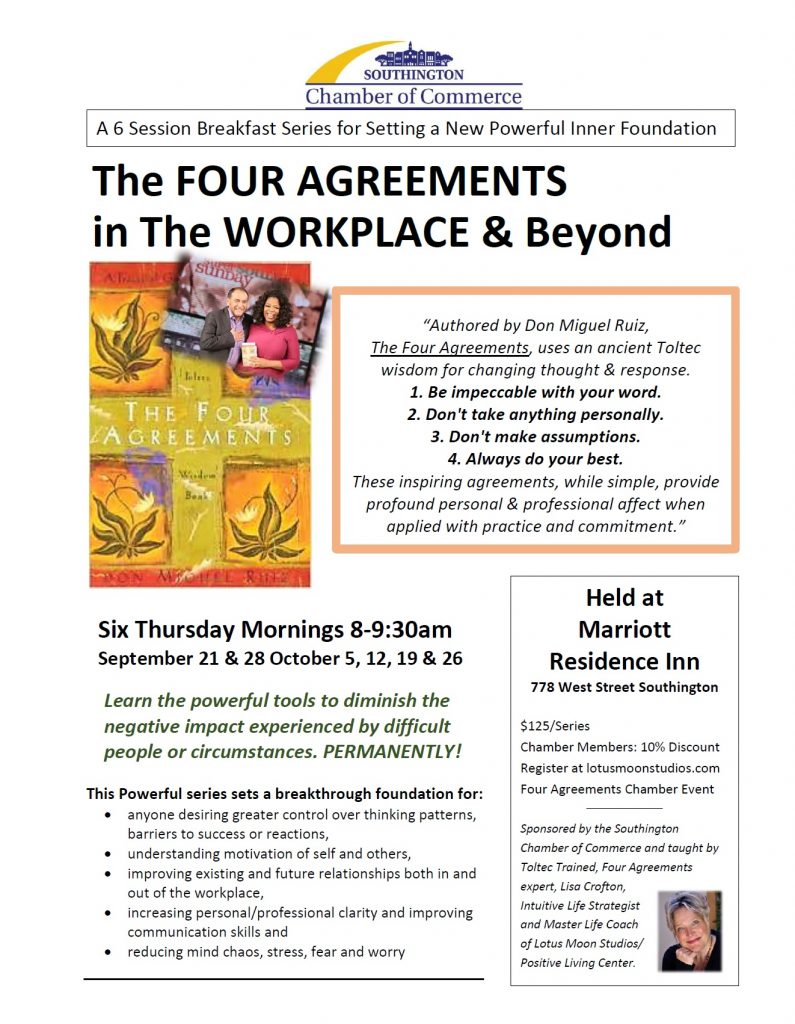 The Four Agreements In The Workplace Beyond The Greater